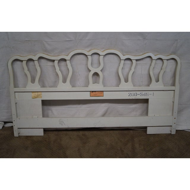 Drexel Vintage French Louis XV Style Headboard - Image 3 of 10