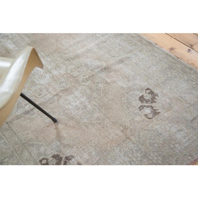 "Distressed Oushak Runner - 4'7"" X 10'8"" - Image 8 of 9"