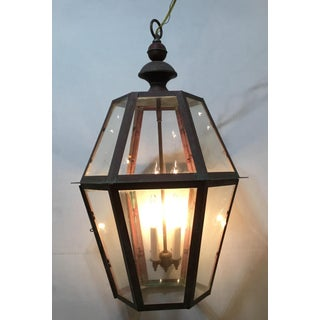 Hand Crafted Hanging Copper Lantern Preview