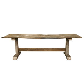 Oak Long Console Table