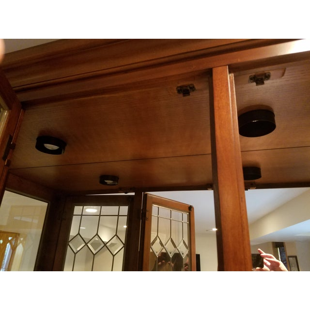 Wooden China Cabinet - Image 11 of 11