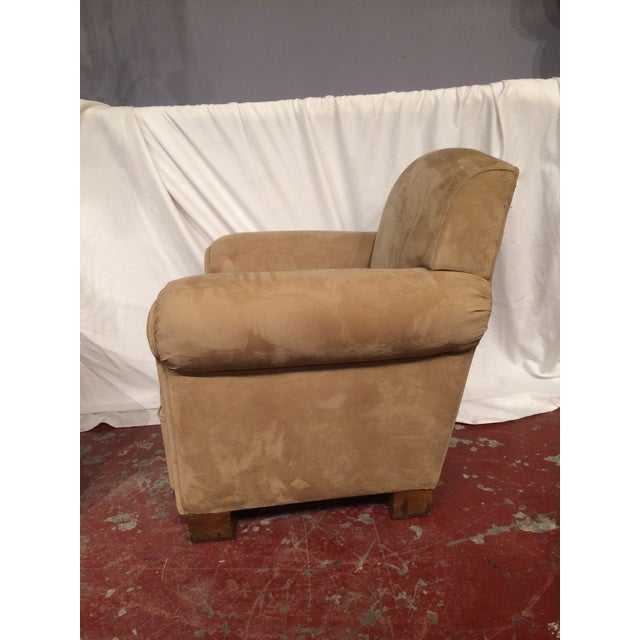 French Art Deco Club Chairs - A Pair For Sale - Image 4 of 6
