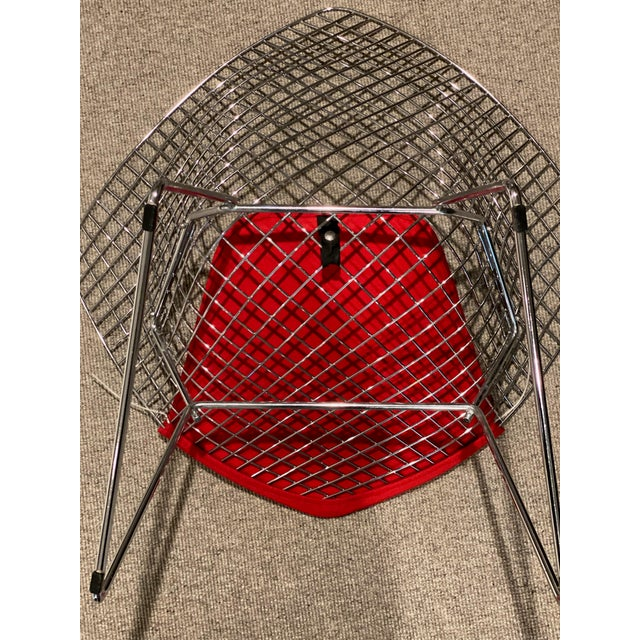 Knoll Bertoia Diamond Lounge Chair Designed by Harry Bertoia for Knoll® For Sale - Image 4 of 6