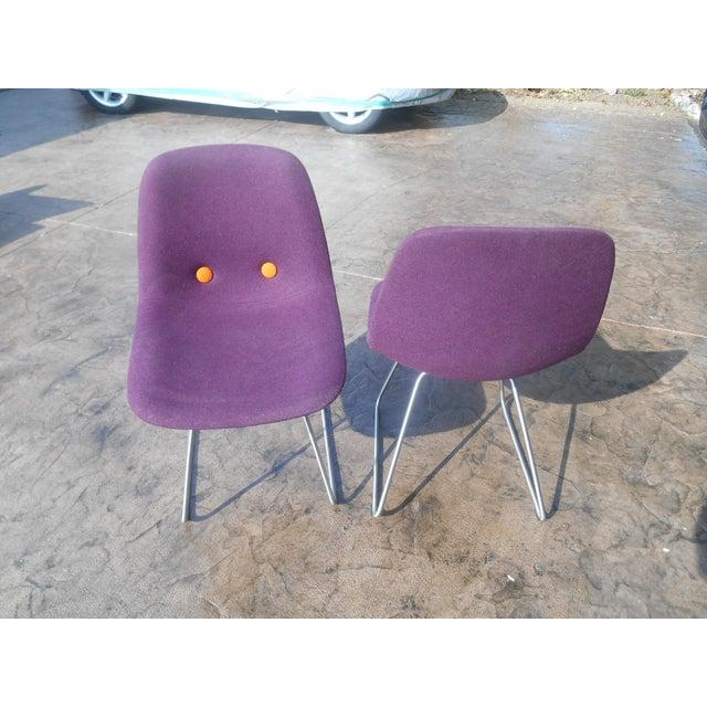 Erik Jorgensen Ej2-W Designer Side Chairs - a Pair For Sale - Image 4 of 7