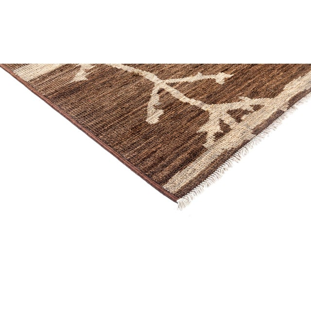 """Moroccan Style Hand Knotted Area Rug - 8'3"""" X 10' - Image 2 of 3"""
