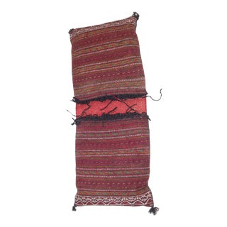 Vintage Egyptian Wool Camel Saddle Bag For Sale