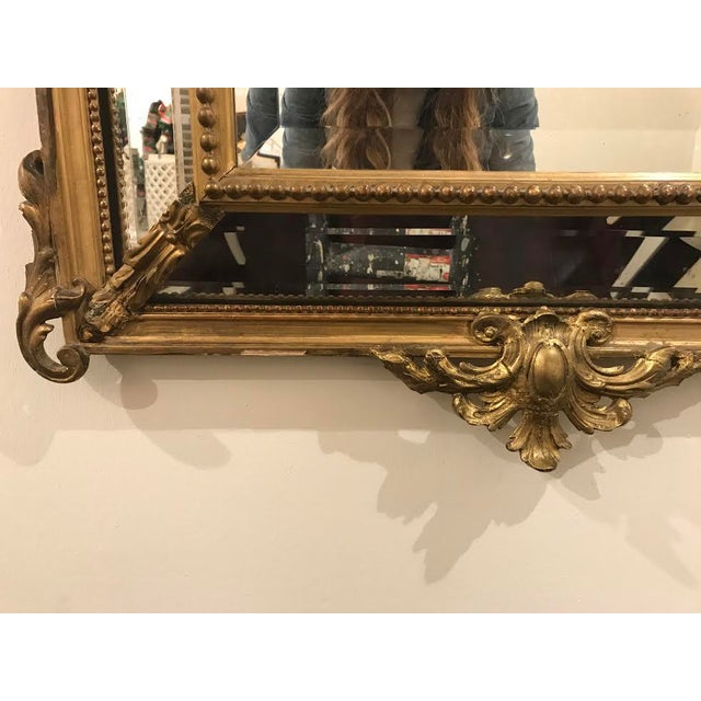 Antique Régence Style Pareclose Mirror - Image 5 of 8