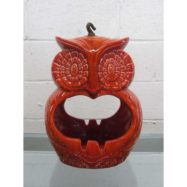 Hanging Owl Ashtray For Sale In New York - Image 6 of 6