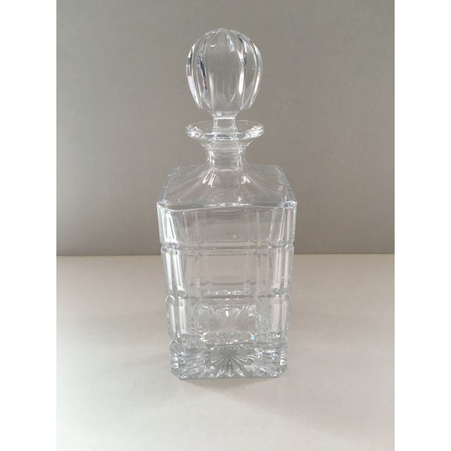 Glass Towle Crystal Decanter For Sale - Image 7 of 7