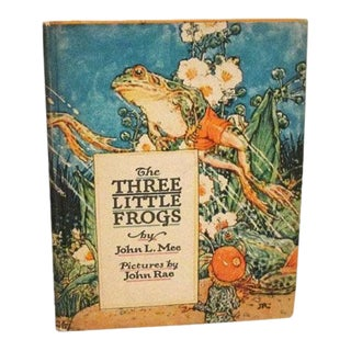 The Three Little Frogs - Il. By John Rae - Volland Books, 1924 For Sale