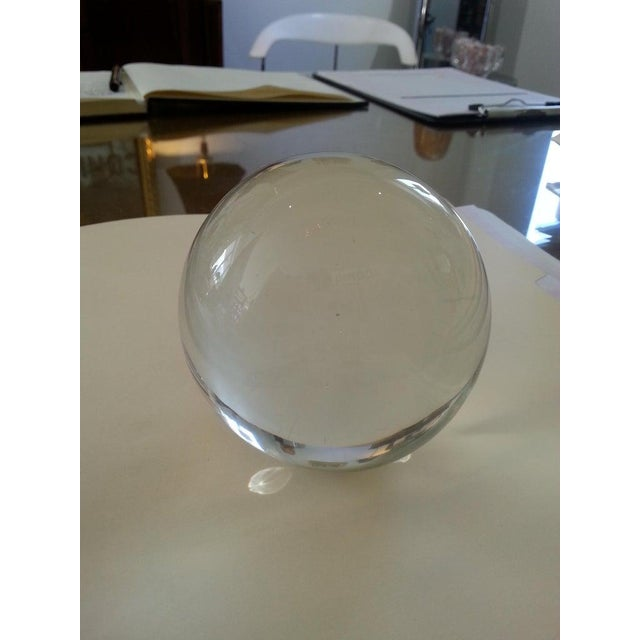 This three piece artisan glass sculpture was acquired from a Palm Beach estate and was created in 1995. The piece is...