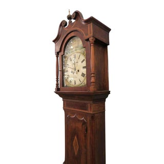 Early 1800s English Grandfather Tall Case Clock Preview