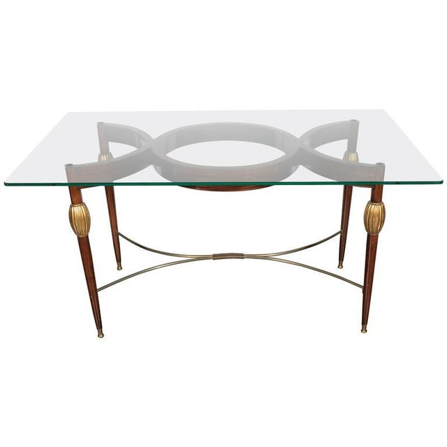 Mid-Century Modern Italian Cocktail Table in the Style of Gio Ponti, circa 1945 For Sale - Image 11 of 11