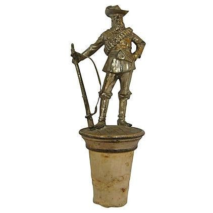 1920s Cowboy Figural Bottle Topper - Image 1 of 5