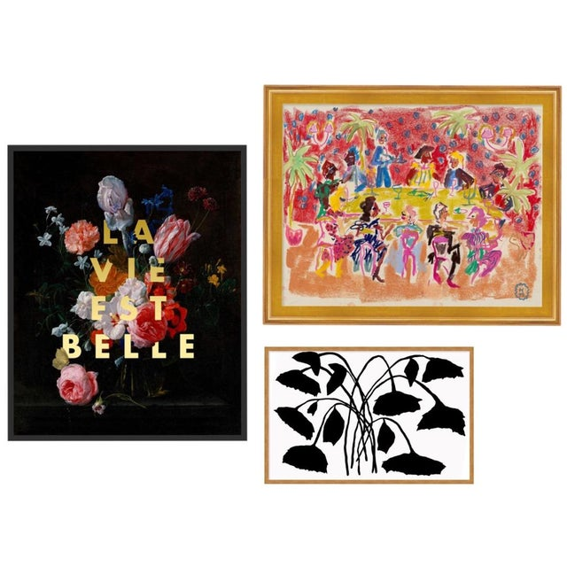 Park Avenue Gallery Wall, Set of 3 For Sale - Image 11 of 11