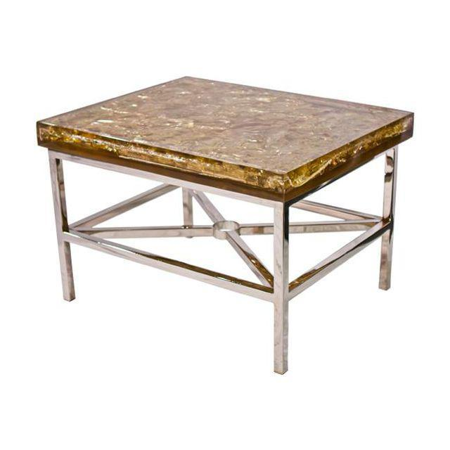 """""""Shattered Dreams"""" Coffee/Side Tables For Sale - Image 5 of 5"""