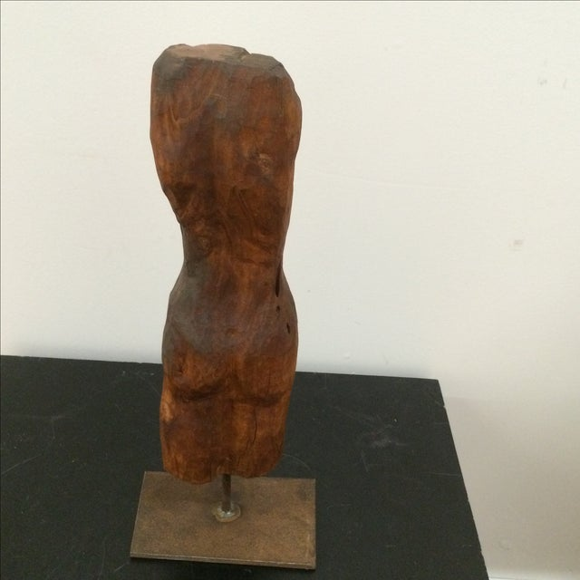 Sculpted Figure on Stand - Image 4 of 7