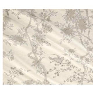 Ralph Lauren Marlowe Floral Silver Fabric For Sale
