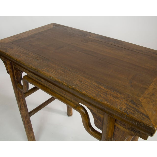 Vintage Asian Inspired Rattan Table - Image 3 of 3