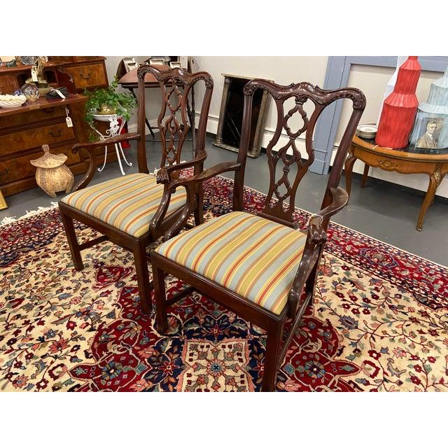 Henkel Harris 20th Century Henkel Harris Armchairs - a Pair For Sale - Image 4 of 10