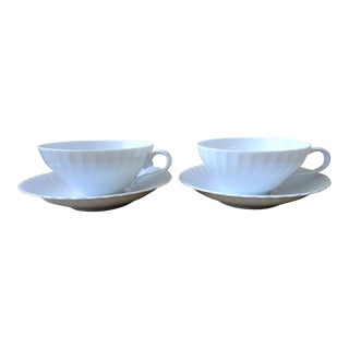 Kaiser Vintage Porcelain Tea Cup and Saucer - a Pair For Sale