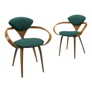 Mid-Century Norman Cherner for Plycraft - a Pair For Sale