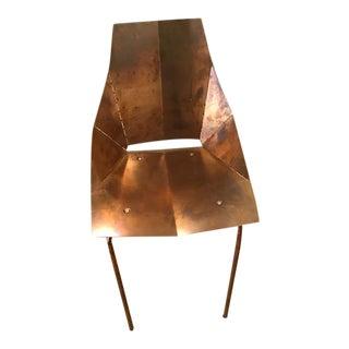 ABC Carpet & Home Copper Chair