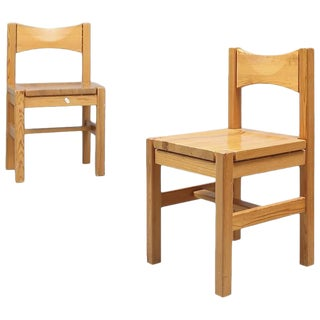 Ilmari Tapiovaara Pine Chairs, Finland, 1963 For Sale