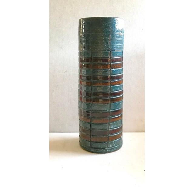 Mid-Century Italian Sgraffito Vase - Image 2 of 6