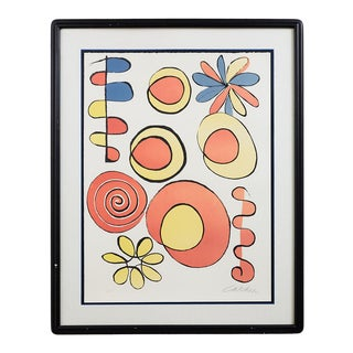 Mid-Century Geometric Abstract After Alexander Calder For Sale