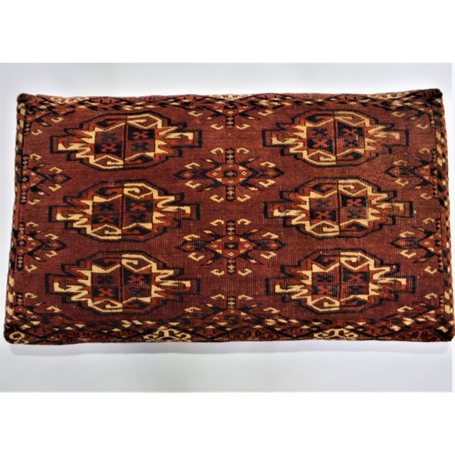 Late 19th Century Antique 19th Century Rug Covered Bench For Sale - Image 5 of 10