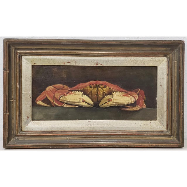 Original Still Life W/ Crab by E. Holloway For Sale - Image 9 of 9