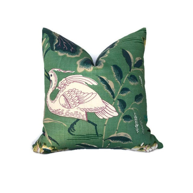 Add a new look by using pillow covers made of designer fabric! Unused pillow cover. Made to order! Pattern placement may...