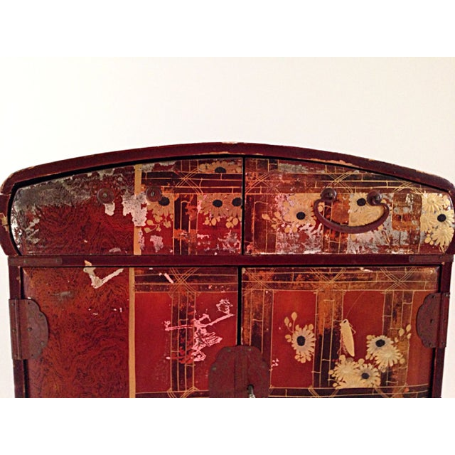Antique Japanese Jewelry Cabinet - Image 8 of 8