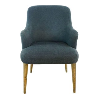 West Elm Upholstered Dining Chair For Sale