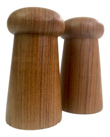 Image of Dansk Salt and Pepper Shakers