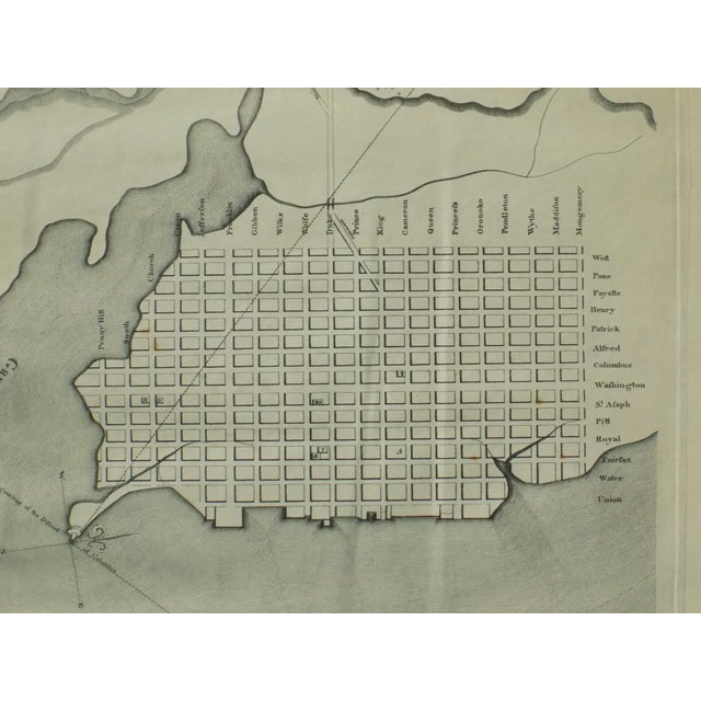 1944 Alexandria, Virginia Town Plan For Sale - Image 5 of 7