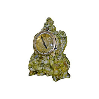 Stones in Cast Resin Clock For Sale