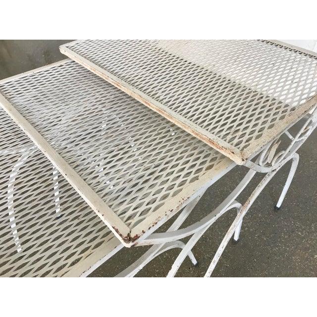 Mid-Century Modern Salterini Iron Nesting Tables - Set of 3 - Image 6 of 9