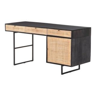 Erdos Ko Home Black Carnival Writing Desk For Sale