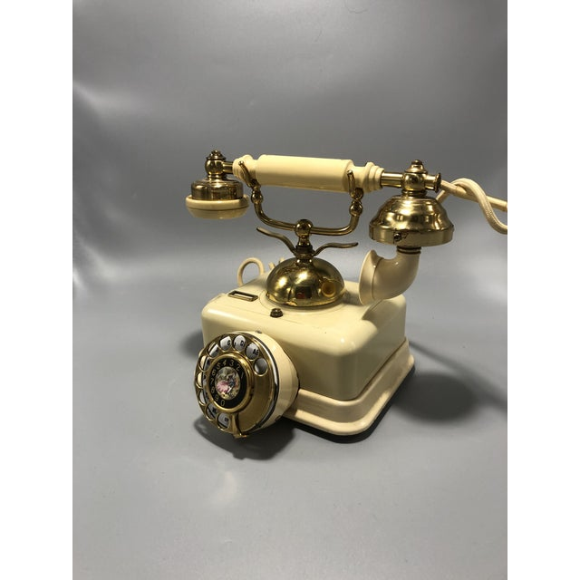 Mid-century electric dial phone 1950s circa