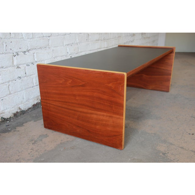 Jens Risom Mid-Century Modern Coffee Table or Bench For Sale In South Bend - Image 6 of 9