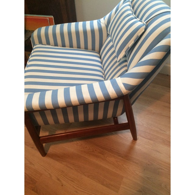 Set of 2 Mid Modern Scandinavian Style Side Chairs - Image 4 of 6