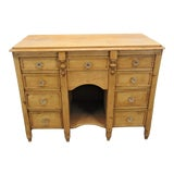 Image of Late 19th Century Rustic English Pine Vanity For Sale