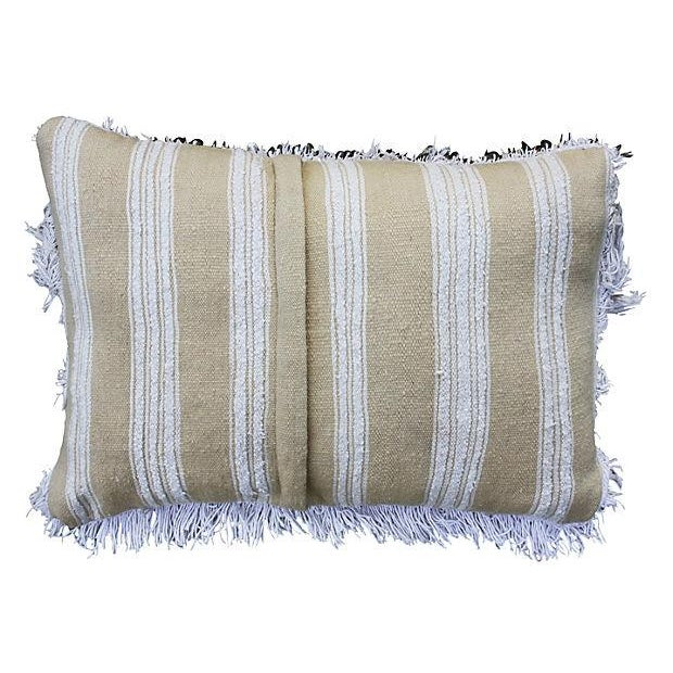 Moroccan Berber Wedding Sham with Sequins - Image 3 of 3