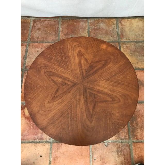 Kipp Stewart Walnut Side Table - Image 5 of 8