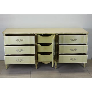 Yellow French Provincial 9-Drawers Dresser Preview