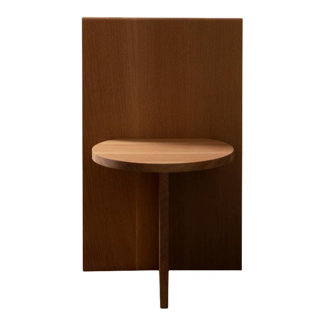 Campagna |O Sit Chair in White Oak For Sale