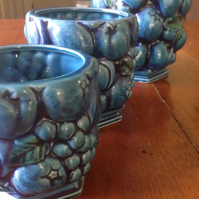 Inarco Japanese Pottery Planters - Set of 3 For Sale - Image 4 of 11