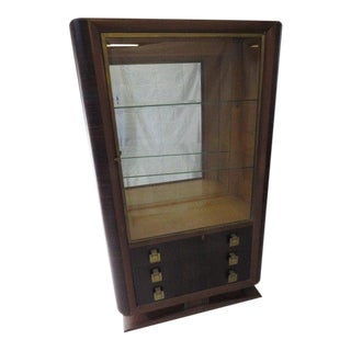 Art Deco Vitrine For Sale